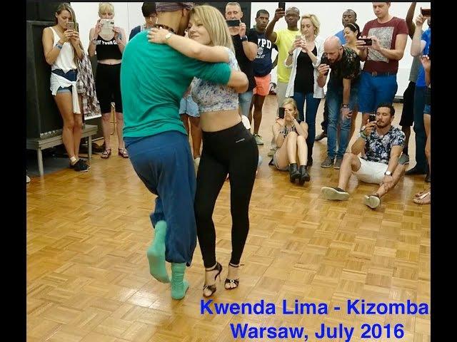 Kizzmemore 2016 - Warsaw - Kwenda Lima - Kizomba DEMO