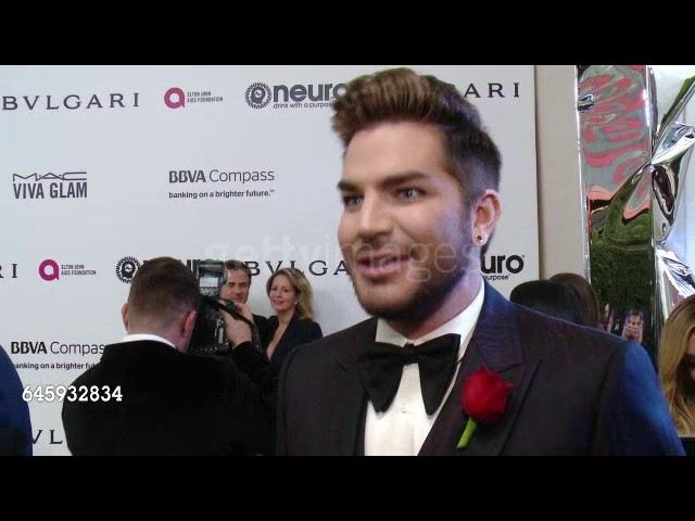 INTERVIEW: Adam Lambert at Elton John AIDS Foundation