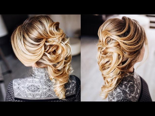 Греческая коса - идеальная прическа для