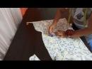 Как сшить летнее платье из льна без выкройки