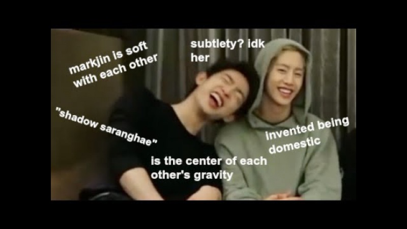 [GOT7] markjin being soft for 10 mins straight