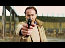 Убивашка Минди Макриди и Папаня Дэймон Макриди. Папаня тестирует бронежилет на Убивашке. Пипец.