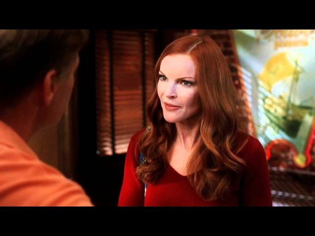 Marcia Cross and Doug Savant - Melrose Place and Desperate Housewives