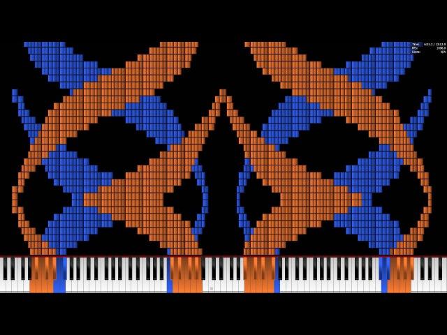 Black MIDI Noise Challenge The Medley Of MIDI Art Extended version 9 63 Million
