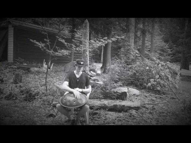 Daniel Waples, a binaural recording test with a handpan in the forest n1 [must wear headphones]