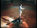 Акробаты эквилибристы, Шубины, олег Попов, 1954 год