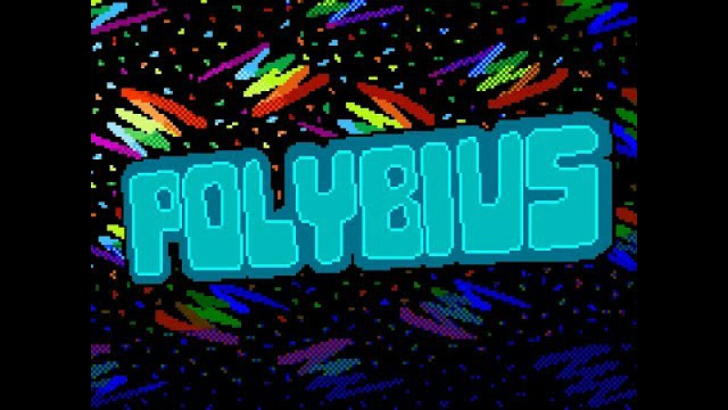 POLYBIUS - The Video Game That Doesnt Exist