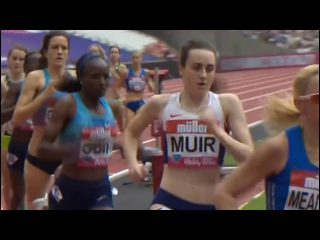 Helen Obiri Breaks Meet Record Women's 1 Mile London Diamond League 2017