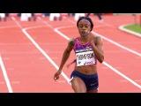 Elaine Thompson wins Women's 100m - Paris Diamond League 2017 [1080p 50fps]