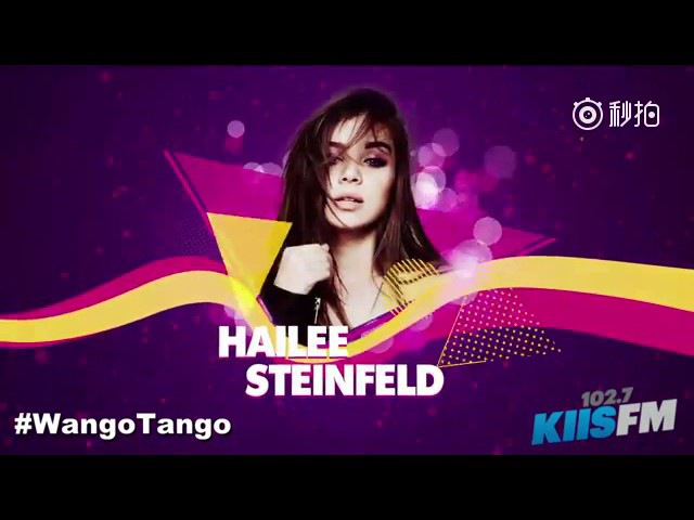 Hailee Steinfeld at Wango Tango 2017 singing Starving/ You're Such A/Love Myself/Most Girl live
