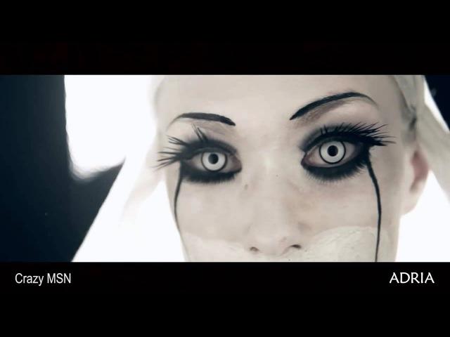 ADRIA - Crazy - Сеть (MSN) - цветные карнавальные линзы