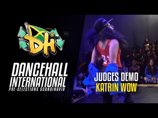 DHI Scandinavia 2017 - Judge Solo KATRIN WOW