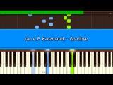 Jan A. P. Kaczmarek - Goodbye Piano Tutorial (Synthesia)