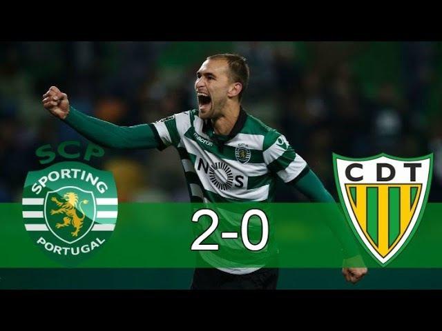 Sporting CP vs Tondela 2 - 0 Resumo 16/09/2017 HD