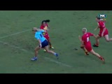 Superb try by Bo Vette. New South Wales vs Queensland 10s '17