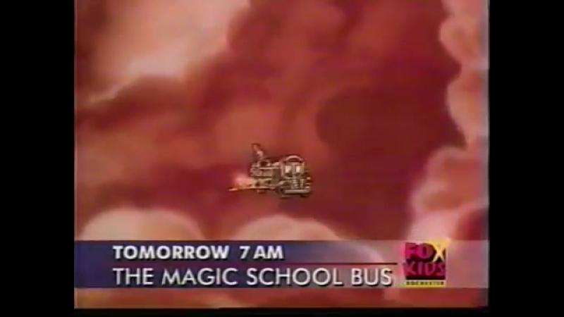 Волшебный школьный автобус (Fox Kids [США], 2001) Анонс