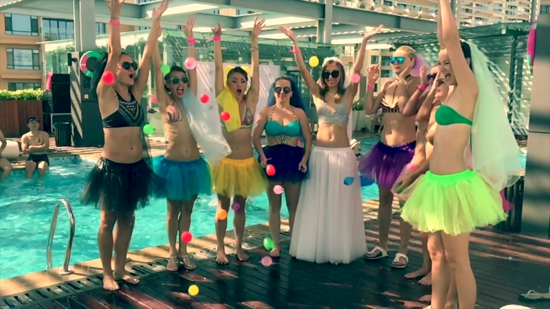 ROOFTOP POOL PARTY №3 девичник