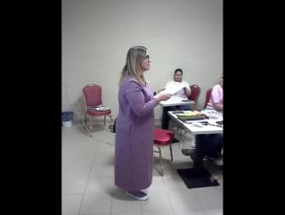 Вручение диплома от Недялковой Ирины