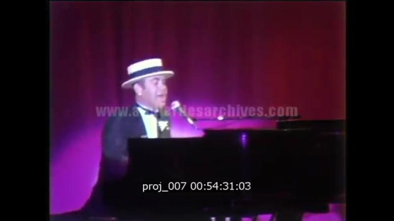 Elton John — I'm Still Standing (Monte Carlo, 8/10/1984)