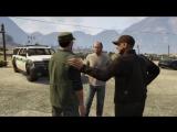 Grand Theft Auto V - The Civil Border Patrol- Joe  Joseph Intro Scene What- Trevor Phillips PS3