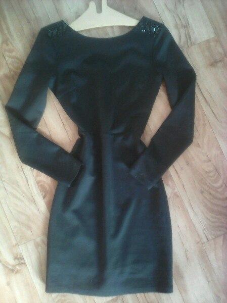 Обмен, возможна продажа ❗Классическое чёрное платье 👗, одевалось 2 раз