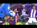 ЧИ 2012 13 36 тур Барселона Реал Вальядолид 2 1 2 тайм