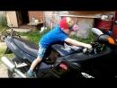 "Ваня и Honda CBR1100XX Super Blackbird ""Чёрный Дрозд""))))"