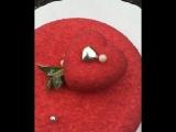Муссовый торт Груша-карамель