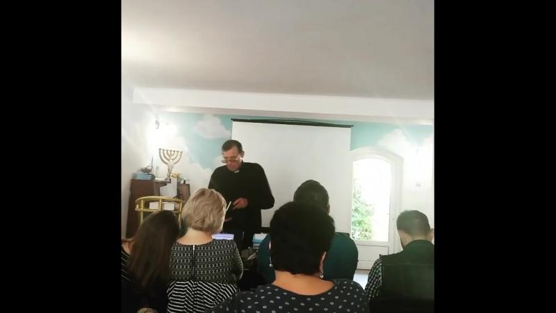 Евангелие на Абхазском пастор Роман из г.Гал Абхазия