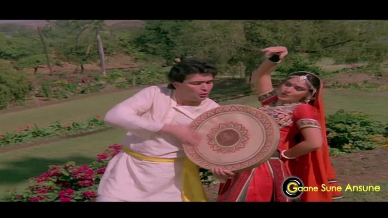 Teri Payal Baji Jahan - Mohammed Aziz, Anuradha Paudwal -Bade Ghar Ki Beti 1989 Songs-Rishi Kapoor