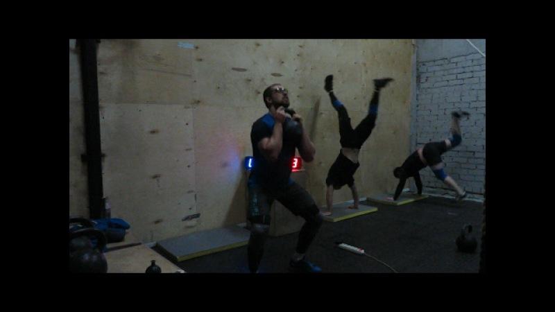 Гиря Ка4. Гиревой комплекс Думбулль. Kettlebell CrossFit Wod Doombull