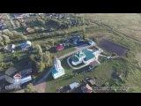 Аэросъемка Троицкого собора и Пугачевской башни (Цивильск)