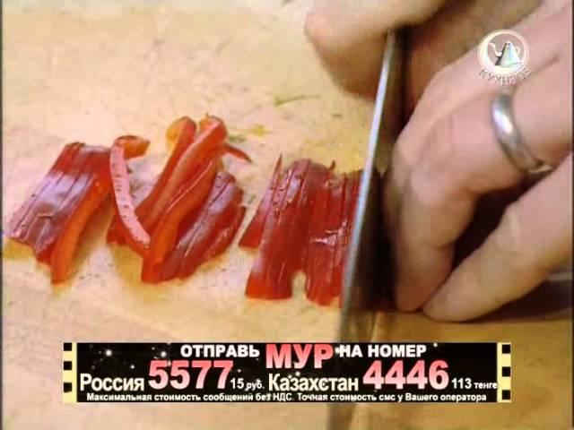 Жить вкусно с Джейми Оливером 20 серия/лосось картофелем,хрустящий салат