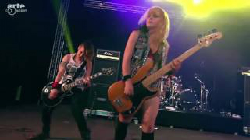 Barb Wire Dolls live at Wacken Open Air 2016