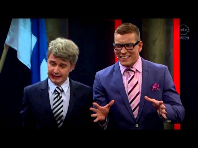 Пародия на Путина в финском юмористическом шоу перевёлиозвучил Андрей Бочаров