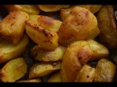 Картошка по деревенски Пальчики оближешь