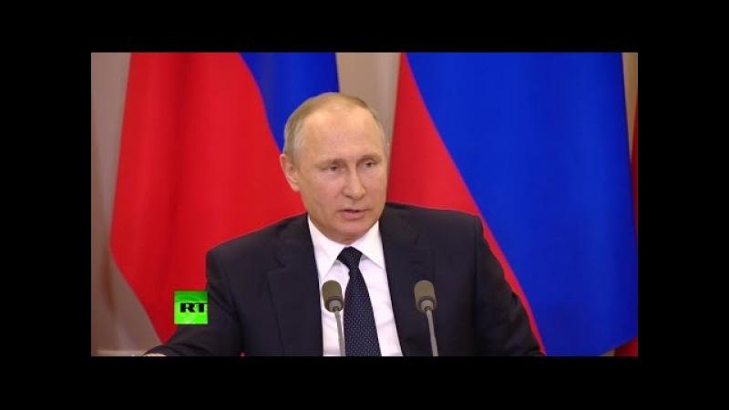 Путин: реакция американских СМИ на визит Лаврова в США — «политическая шизофрен...