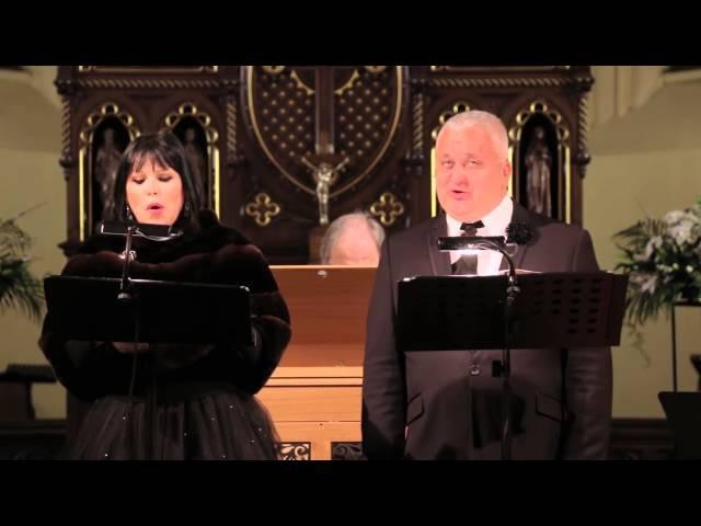 Inese Galante un Sergejs Jēgers izpilda Stabat Mater (Dž. B. Pergolezi)