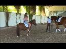Macarena Sanchez: Momento con un pony. Version Corta