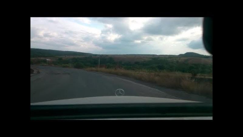 Дорога от Красного Луча до Снежного * The road from Krasny Luch to the town of Snezhnoe