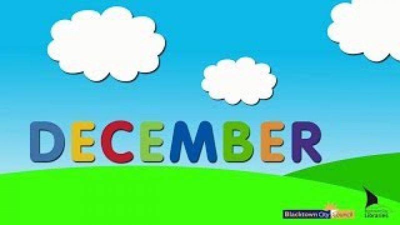 Blacktown City Libraries, Baby Rhyme Time online video - December