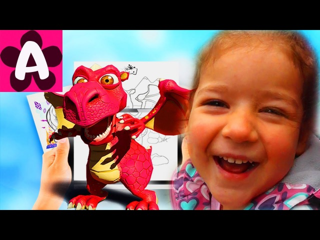 Живые раскраски новинки от DEVAR kids 3D Сборник Сказки-раскраски Азбука Девар кидс ...