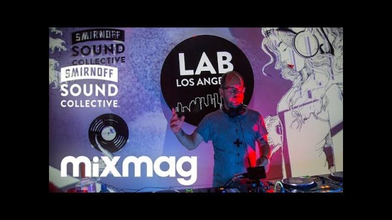 OLIVER HUNTEMANN's tech set in The Lab LA