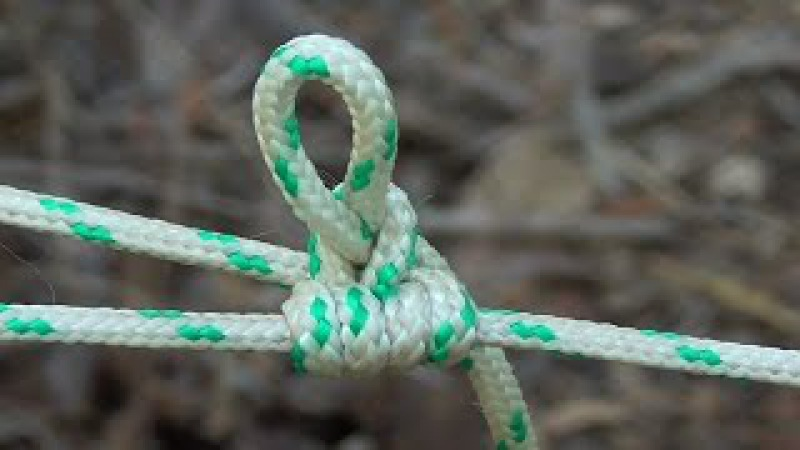 Camping, Bushcraft Knot How To Tie The Exploding Farimond Friction Hitch