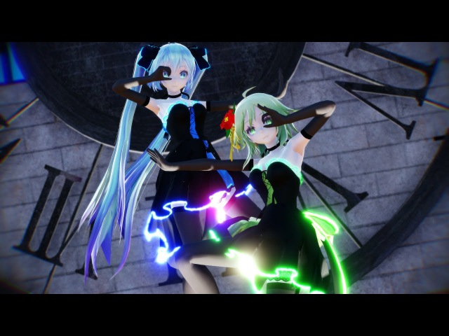 【MMD】脳漿炸裂ガール / Spinal Fluid Explosion Girl 1440p60fps