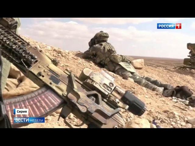 Вести.Ru: Силы спецопераций помогли освободить Пальмиру и отбросить боевиков от Тадмора