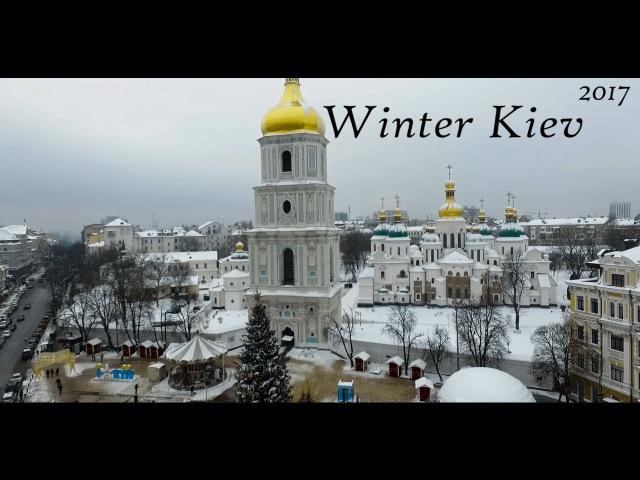 Зимовий Київ - Sky Eye