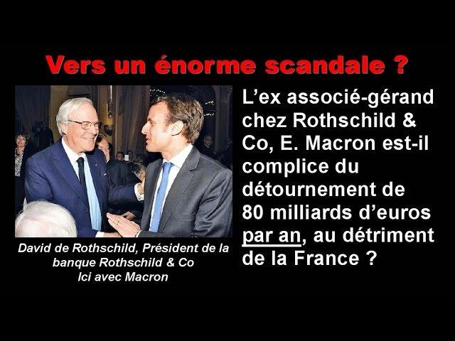 Vers un énorme scandale Macron