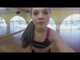 Maddie Ziegler - Turn Board . Side Aerial . Death Drop and Straddle Leap