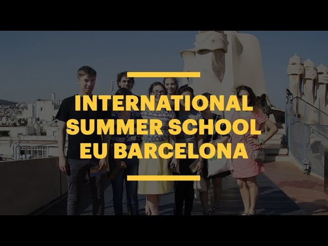 International Summer School in Barcelona